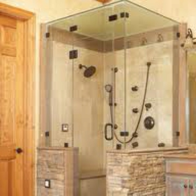 Best Walk In Shower Ideas Images On Pinterest Room Bathroom