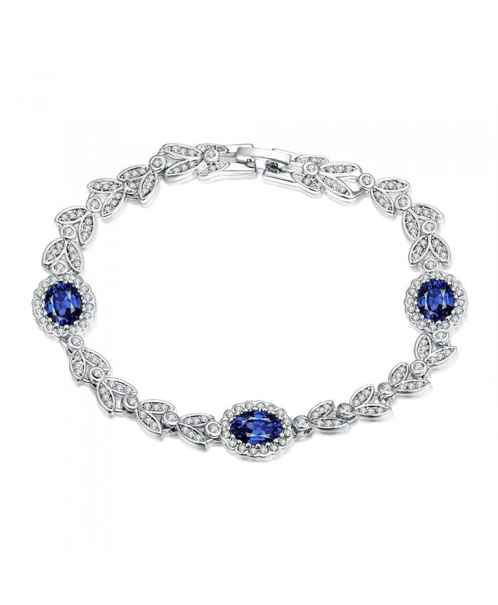 B008 High Quality Free Antiallergic Nickle Platinum Plated Bracelets 2015 New Fashion Jewelry