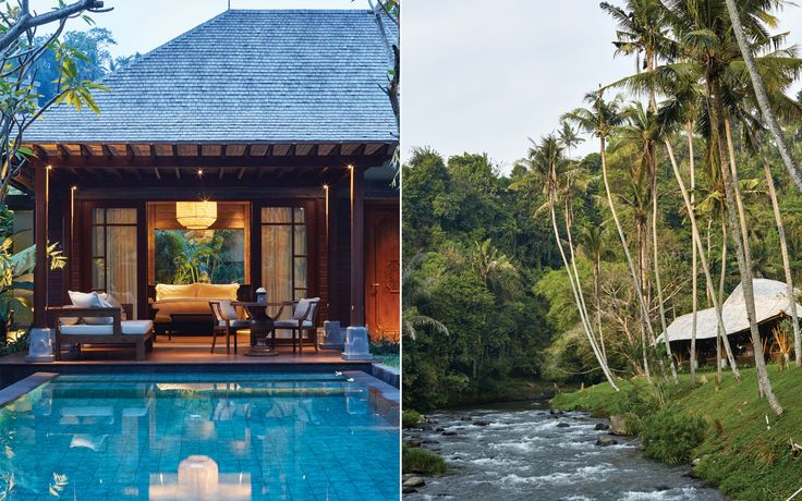Checking In: Mandapa, Bali's Splendid New Jungle Resort | While many resorts are sequestered from their surroundings, Mandapa is fully connected to the life and culture of the island. Read on.