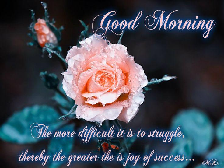 Čím těžší je boj,tím větší je radost z úspěchu...