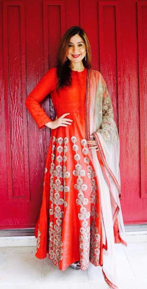 Red And Gold Designer Punjabi Suit With Beautiful Duppatta