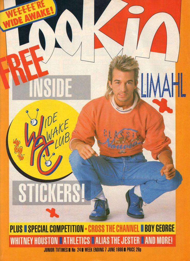 I can even remember the ad . . .la la la la la look iiiiinnn....I may have had this very edition . .. Loved Limahl too :)