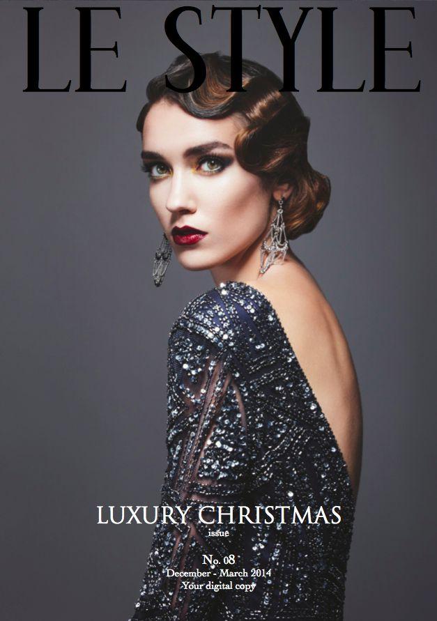LE STYLE LUXURY CHRISTMAS EDITION. Photo ©Le Style www.lestyle.org #lestyle #modern #french #luxury #magazine