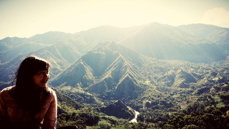 hey nona! heii nona mountain! hihihi..morning at nona maountain sulawesi selatan indonesia