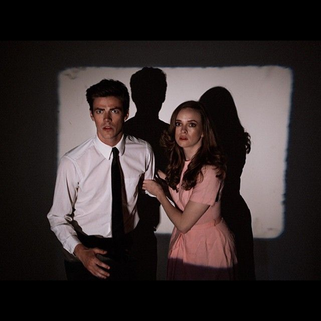Tyler Shields has the best shots of these guys. I still want them to end up together, even though I love Patty ... #GrantGustin #DaniellePanabaker #TheFlash