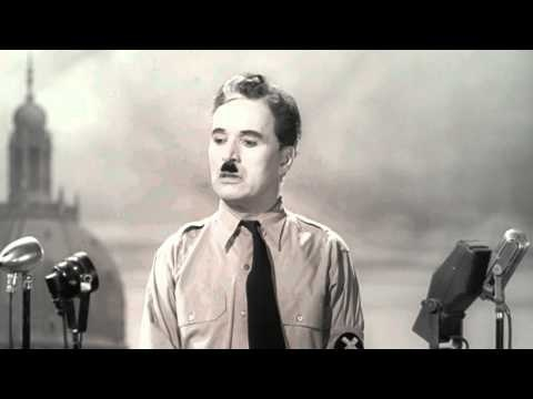 "Chaplin's Speech from ""The Great Dictator"""