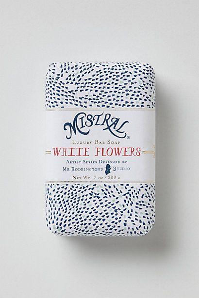 Mistral soap packaging by Mr. Boddington's studio - anthro