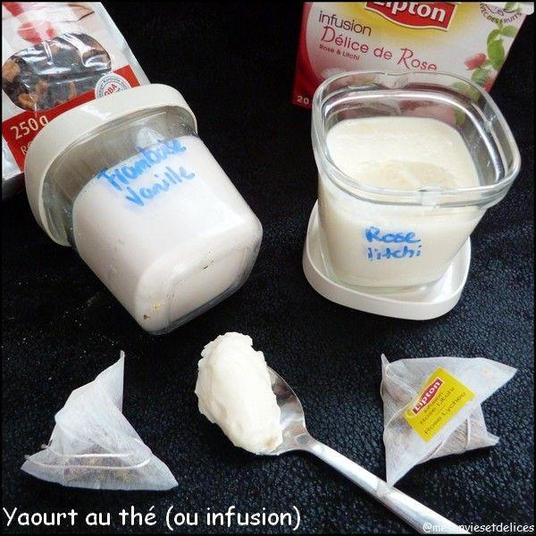 Vous l'avez remarqué, ma yaourtière reprend du service ces derniers temps, et grâce au groupe Facebook Yaourtière Multidélices je me laisse tenter par de nouvelles saveurs. Une de mes amies, Caroline G., très active en yaourts a récemment fait des yaourts...