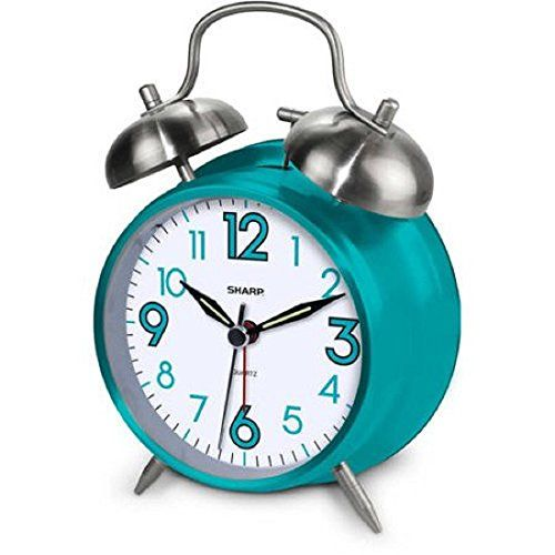 Amazing Attractive Classic Style Twinbell Quartz Analog Alarm Clock