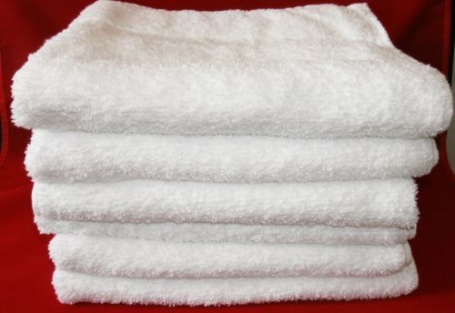Hotel-Bath-Towels-100-Cotton-24-X48-8-0lb-Case-of-24-Soft-White-Towels ~ slightly smaller than standard towels $5.80 ea
