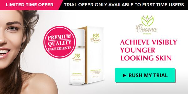 Oveena Skin Care can make you look years younger without harsh ingredients. Get your own free trial today to see results in four weeks.