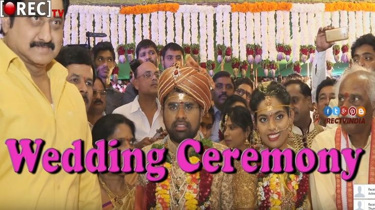 Celebrities and Politicians Attends Bandaru Dattatreya Daughter's Wedding Ceremony Stills