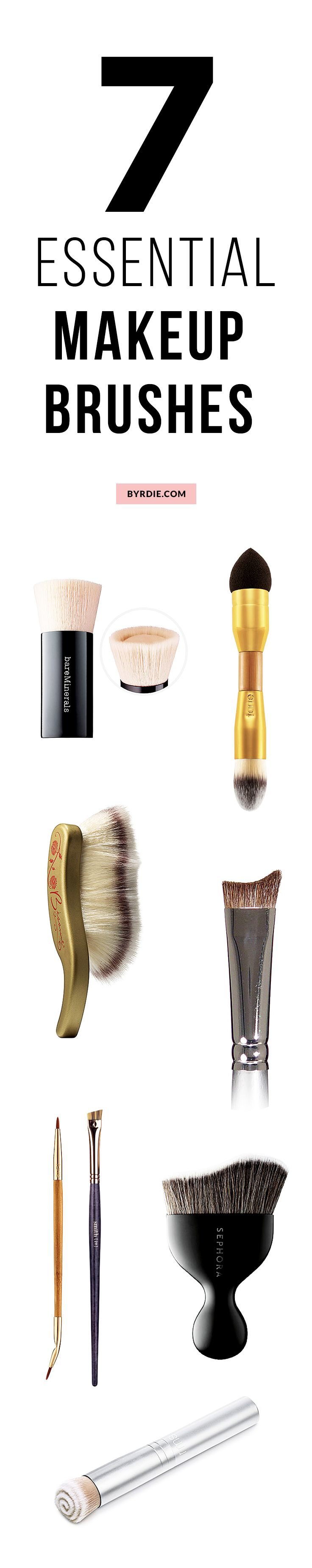 7 crazy-good makeup brushes to add to your bag