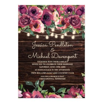 Pin On Rustic Wedding