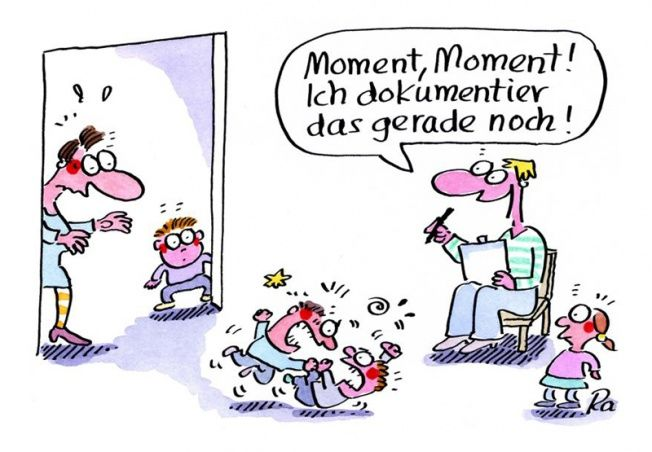 Kindergarten_KiGaPortal_Cartoon_Renate Alf_Dokumentation