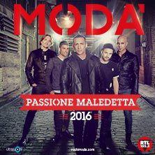 Modà - Biglietti live 2016(TicketOne)