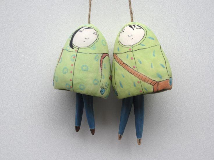 Yen Yen Lo Ceramic Art Melbourne   Bells