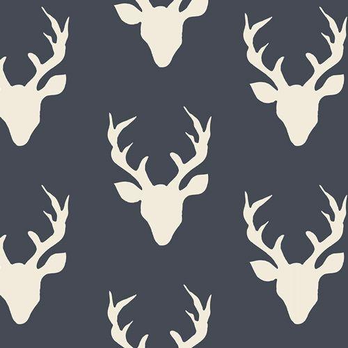 Buck Forest Twilight Knit - 1/2 yard - funkymonkeyfabrics