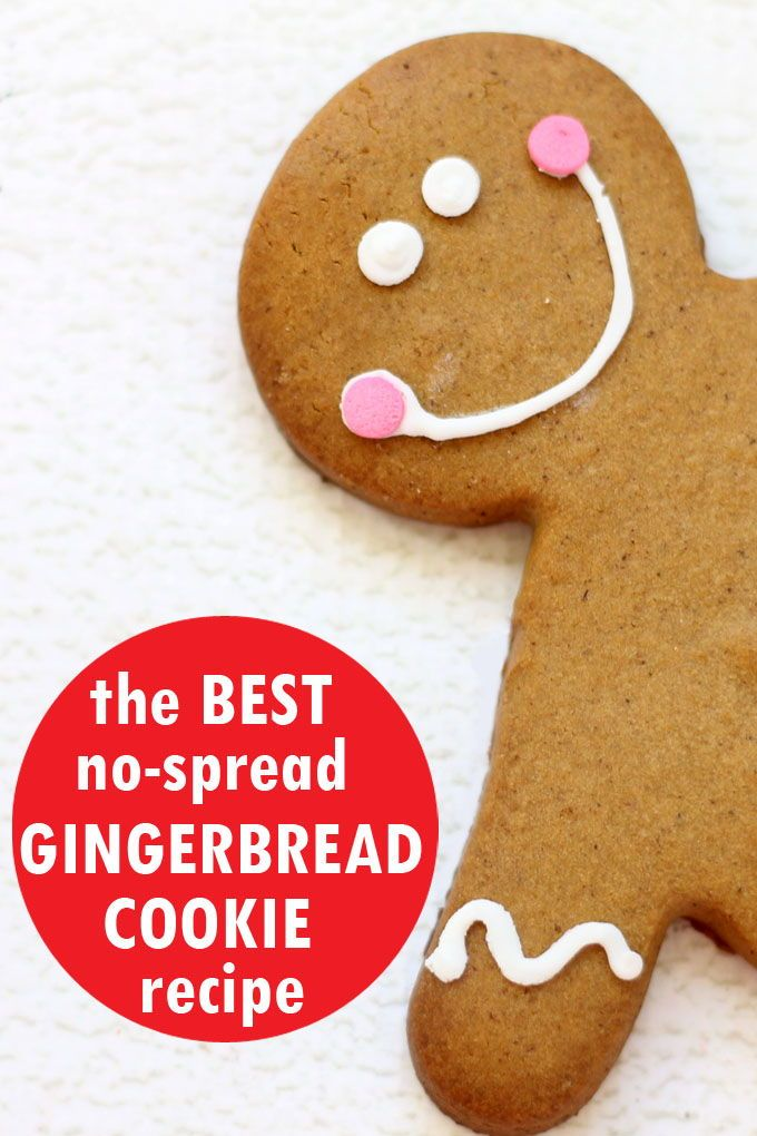 Best Gingerbread Cut Out Cookie