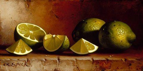 Limes by Loran Speck on artnet
