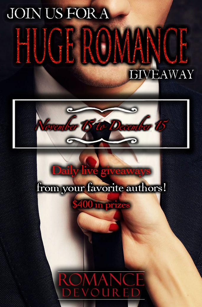 Win Up To $400 In Giftcards From Your Favorite Romance Authors! https://romancedevoured.com/giveaways/win-up-to-400-in-giftcards-from-your-favorite-romance-authors/?lucky=346747