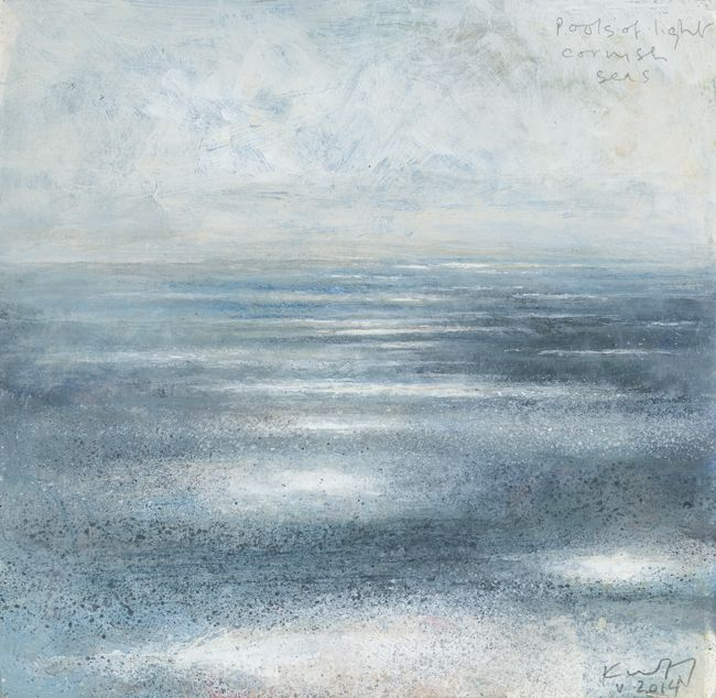 'POOLS OF LIGHT, CORNISH SEAS' (May 2014) | Kurt Jackson ✫ღ⊰n
