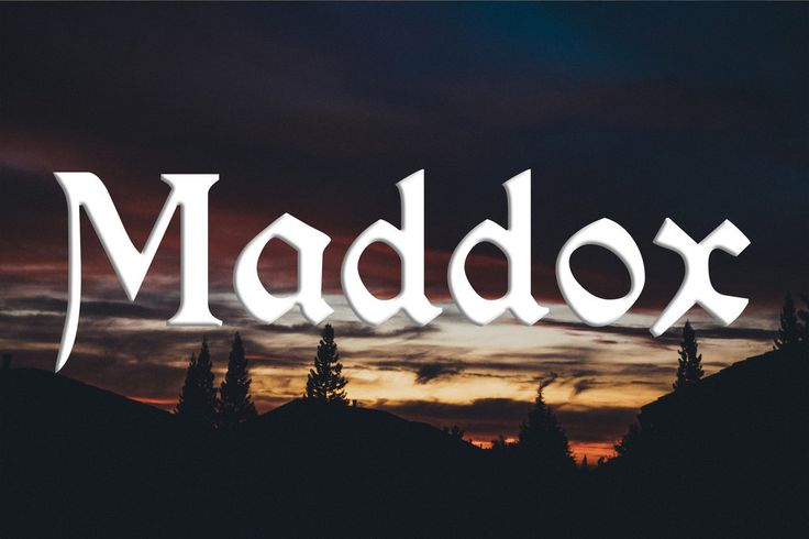 19 Celtic Names So Beautiful You'll Want To Have Children... Maddox is on there