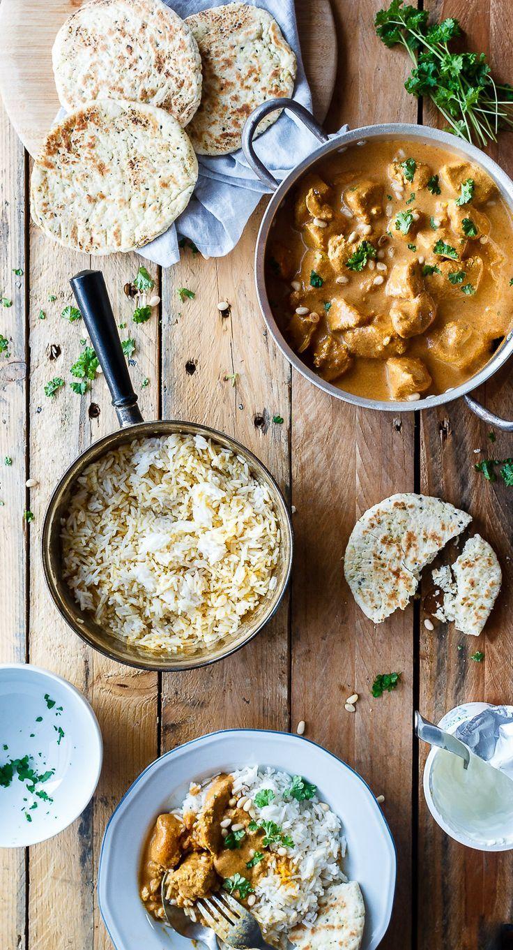 Butter Chicken Opskrift Indiske Opskrifter Opskrifter Og Madopskrifter
