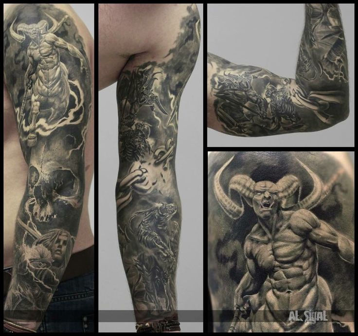 Demon tattoo                                                                                                                                                                                 More