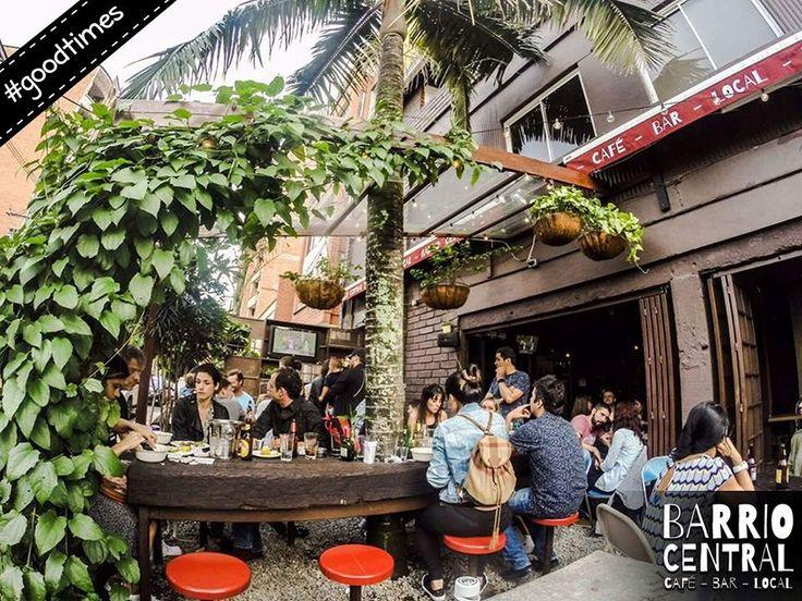 Funtimes in the #Beeergarden at #BarrioCentralCafeBar #BarLocal #BebeLocal #La70 #Laureles #SanJoaquin