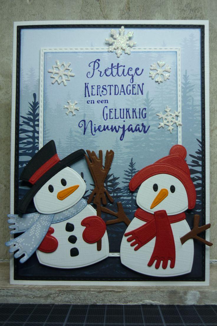 Hallo Allemaal,   Dank je wel voor de reacties op mijn vorige kaarten.  Het is alweer donderdag, kerstkaartendag week 31. De challenge van ...
