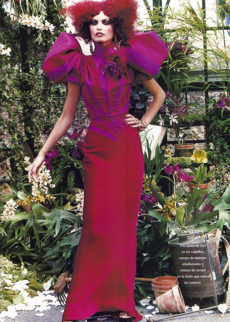 Christian Dior Haute Couture F/W 1997, Peter Lindbergh..........divine colours