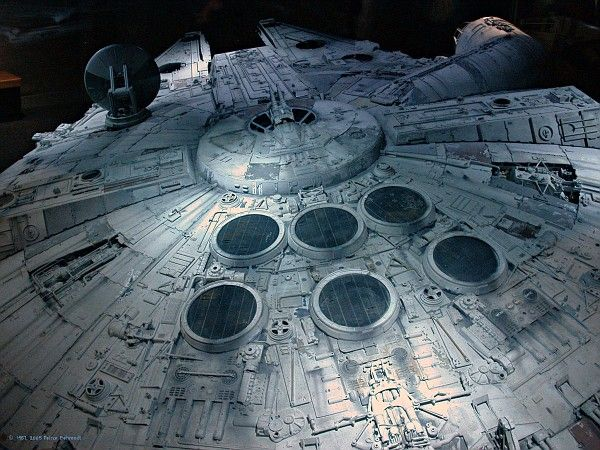 Photo: Millenium Falcon | Star Wars album | Peirce & Georg (his brother) | Fotki.com, photo and video sharing made easy.