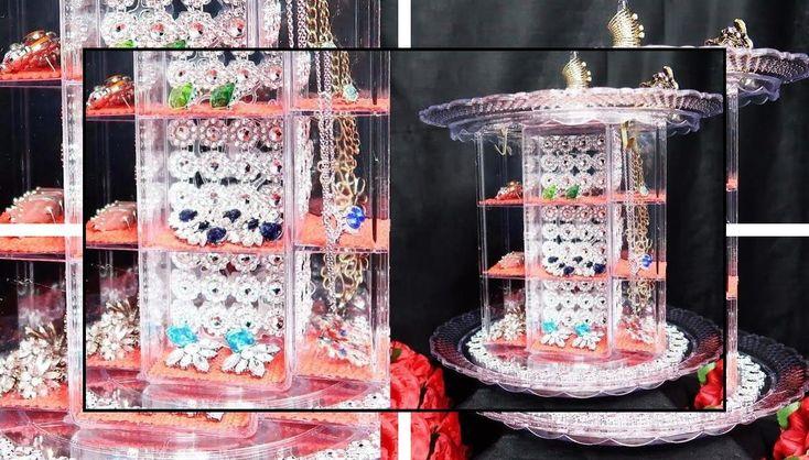 Black jewelry holder jewelry box ring holder inserts