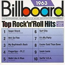 billboard top hits 1988 | Billboard Top Rock'n'Roll Hits: 1963 - Wikipedia, the free ...