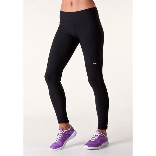 Sorte lange løbe-bukser uden for. I stil med disse fra NIKE (FILAMENT - LANG TIGHT fra Nike)