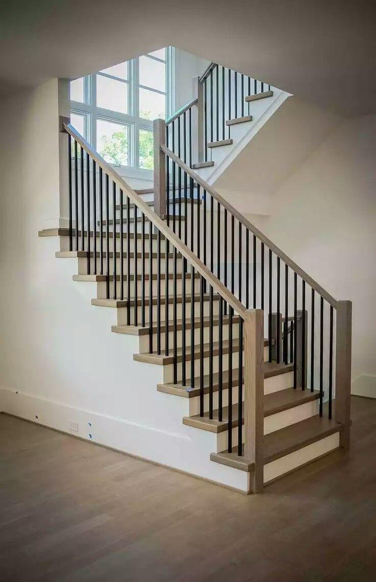 Barandas Modernas Para Escaleras Gallery Of Diseo Con Hierro With  ~ Barandas De Hierro Para Escaleras Interiores
