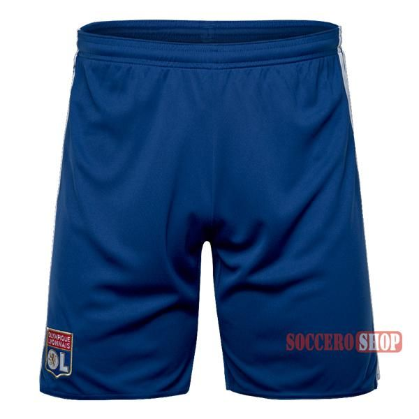 Special Offer: Top Quality Olympique Lyon Blue Soccer Shorts 2016-2017 Away | Soccero-Shop