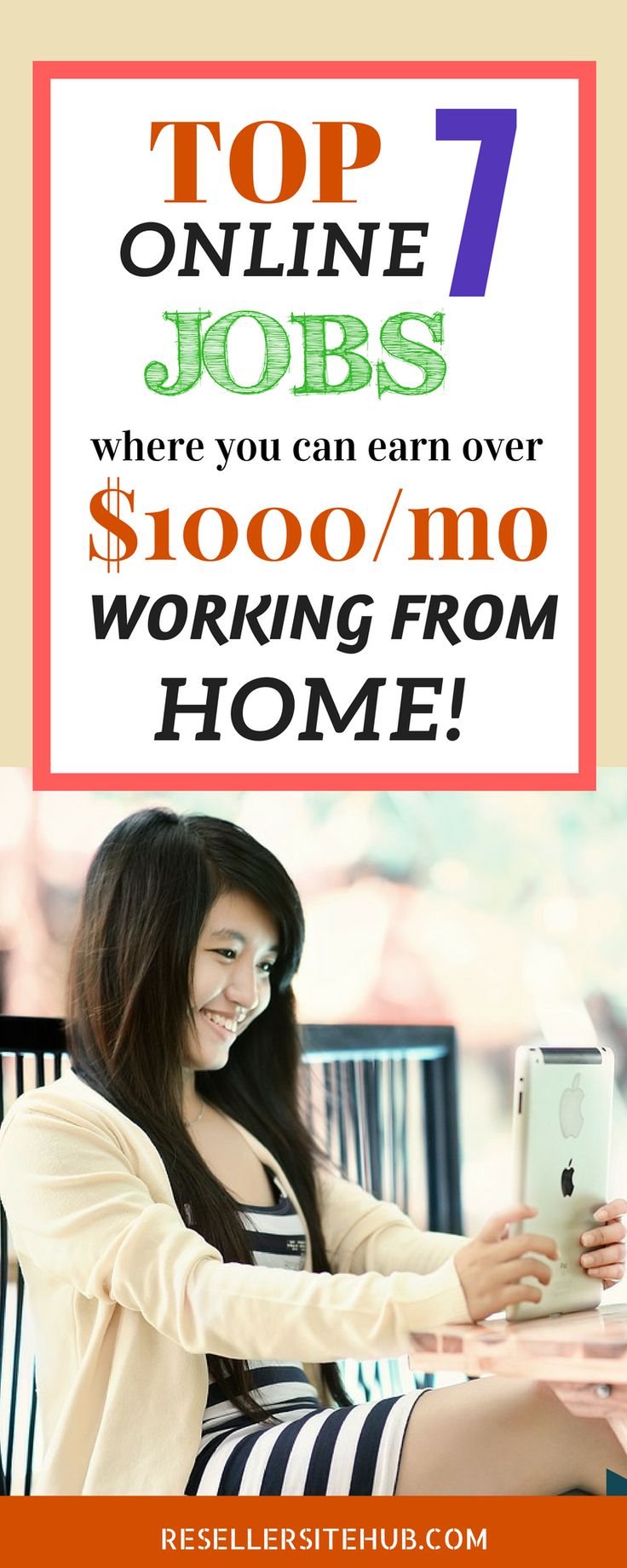 If you're in the hunt for legitimate online jobs , here we have collected 7 online jobs that you can earn more then $100 a month from home, this is great opportunity for side hustle , or people that are looking for something one the side.Check it out !