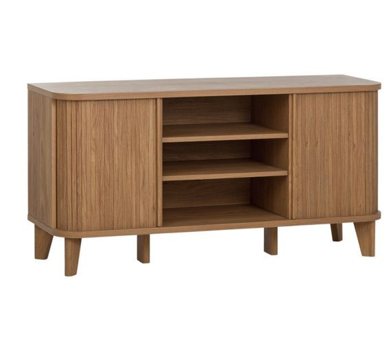 Buy Hygena Jabara 2 Door Low Sideboard/TV Unit - Oak Effect at Argos.co.uk - Your Online Shop for Sideboards and chest of drawers, Coffee tables, sideboards and display units, Home and garden.