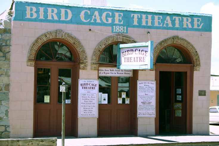 Haunted Tombstone Arizona  My husband and I toured the Bird Cage Theatre when we travelled the midwestern U.S. in 20012 We actually stumbled upon the town and took the time to tour the Bird Cage Theatre. It was one of my favorite spots in our travells.
