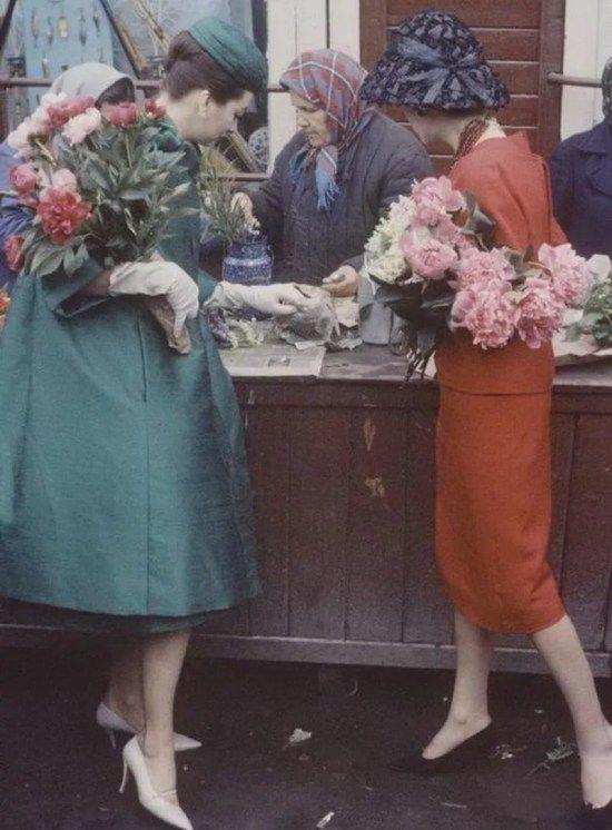 1959г Европейская мода впервые в России