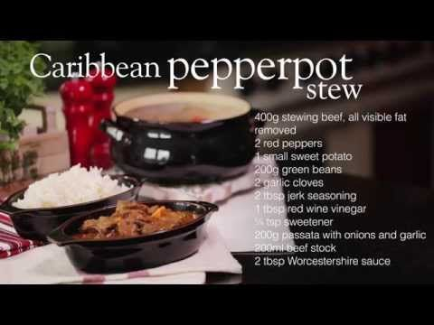 Caribbean pepperpot stew - Recipes - Slimming World