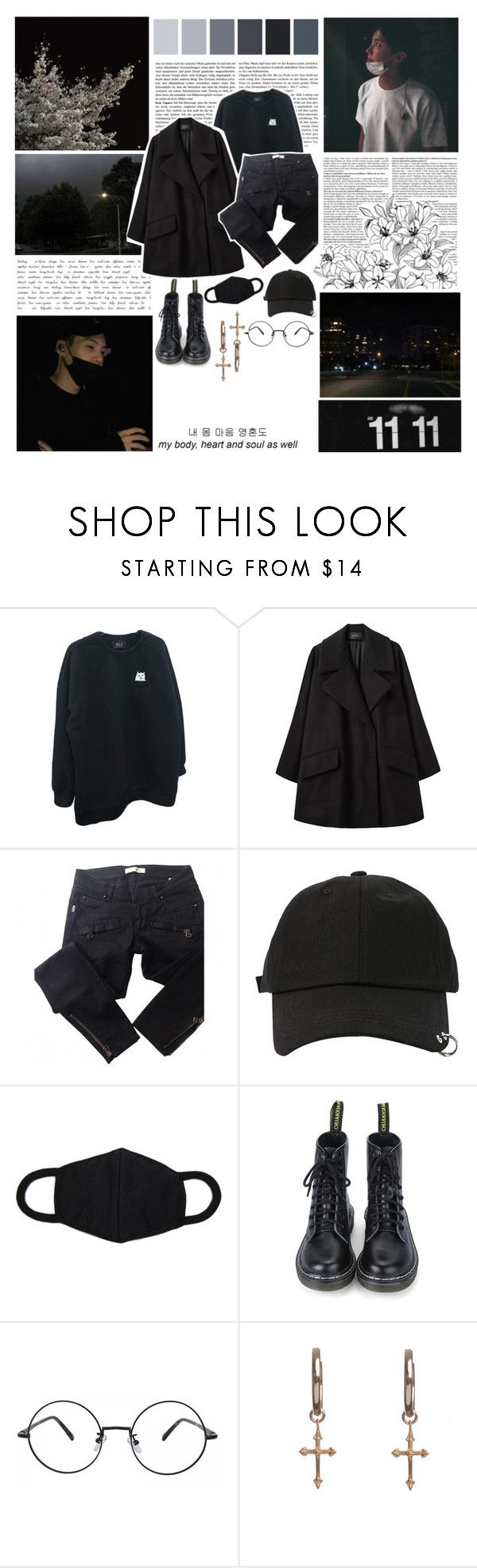 """O48: 쉬고 싶지 않아 // 아니 조금만 쉬면 어때"" by yoongi-btm ❤ liked on Polyvore featuring GET LOST, ...Lost, Simone Rocha, Balmain, StyleNanda, Rachel Entwistle, men's fashion and menswear"