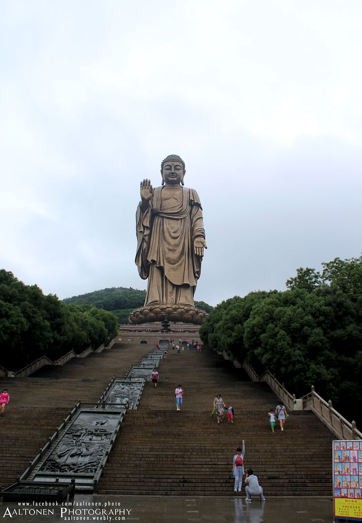 Great Buddha at Lingshan, Wuxi