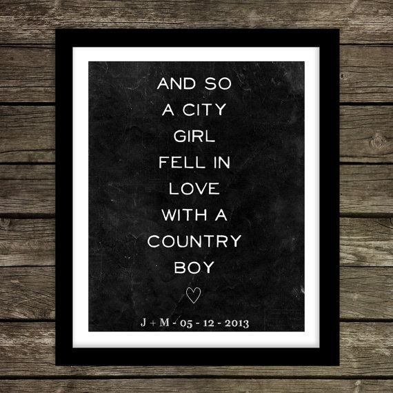 country boy and city girl relationship