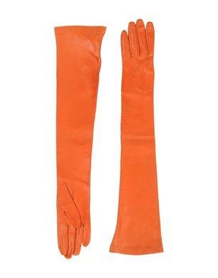 DSQUARED2 - Orange Gloves xoxo, k2obykarenko.com #Orange #Gloves #NYFW