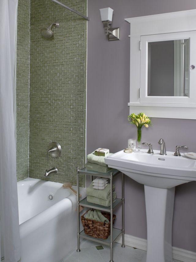 Wasserfeste Wandfarbe Badezimmer Mosaik Badewanne Bereich