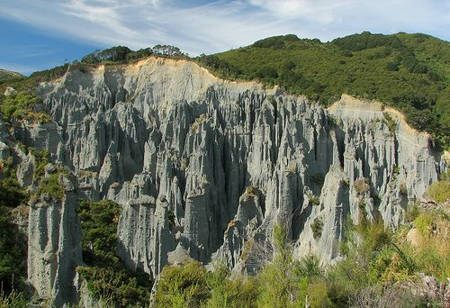 Paths of the Dead,  Putangirua Pinnacles