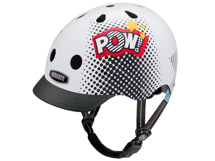CASQUE DE VÉLO NUTCASE LITTLE NUTTY - POW!